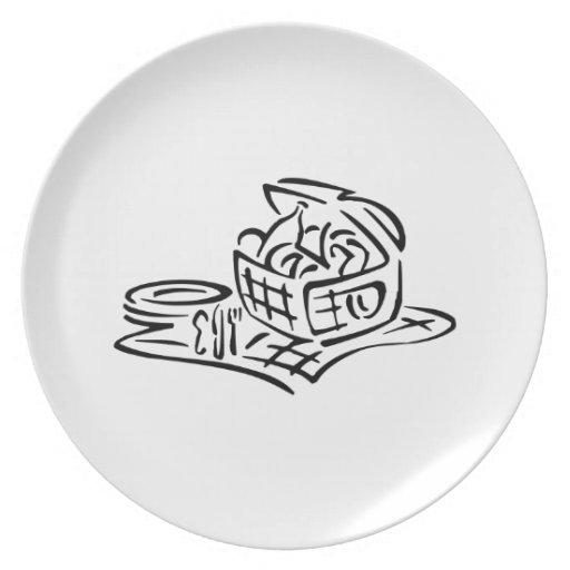 Picnic Basket Plates