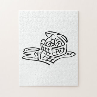 Picnic Basket Jigsaw Puzzles