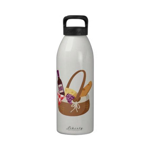 Picnic Basket Reusable Water Bottle