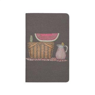 Picnic Basket & Watermelon Journal