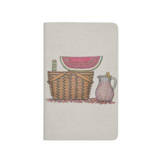 Picnic Basket & Watermelon Journals