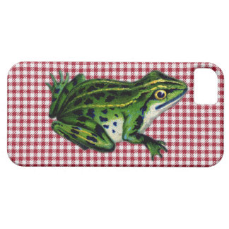 Picnic Frog Print iPhone 5 Case