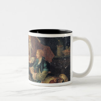 Picnic in a Park Two-Tone Coffee Mug