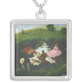 Picnic in May Silver Plated Necklace