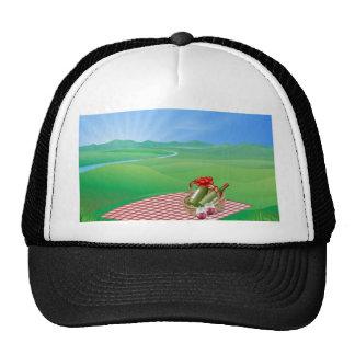 Picnic landscape hats