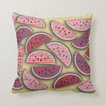 Picnic Love Watermelons Cushion