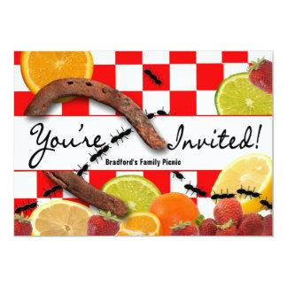 PICNIC/MULTI-PURPOSE PARTY INVITATION CARD