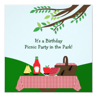 Picnic Party : Invitation