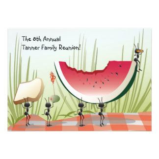 Picnic Party or Family Reunion Invitation