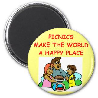 picnic picnics picknicer magnets