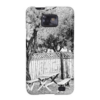 Picnic Table at the Campground Galaxy S2 Cover