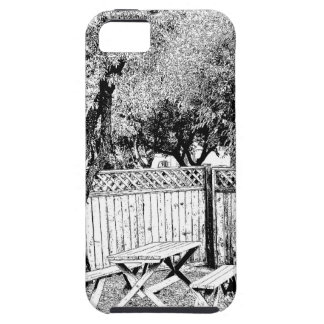 Picnic Table at the Campground iPhone 5 Cases