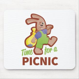 Picnic-time Mouse Mat