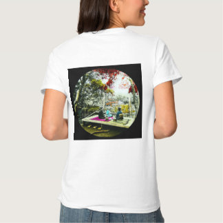 Picnic Under the Maple Leaves Vintage Old Japan Tshirts