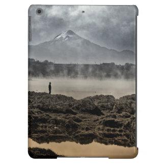 Pico De Orizaba From Achichic Lake In Puebla iPad Air Covers