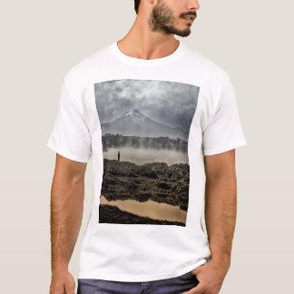 Pico De Orizaba From Achichic Lake In Puebla T-Shirt
