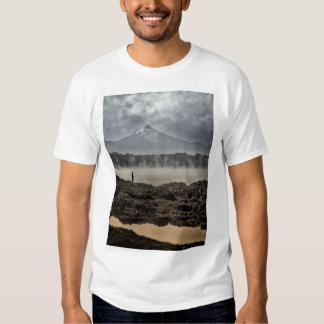 Pico De Orizaba From Achichic Lake In Puebla Tshirt