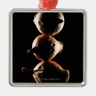 Picolos,Vegetable,Black background Christmas Ornament