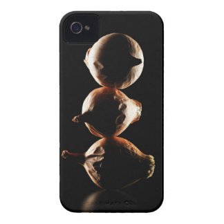Picolos,Vegetable,Black background iPhone 4 Case
