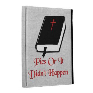 Pics Or It Didn't happen iPad Folio Case