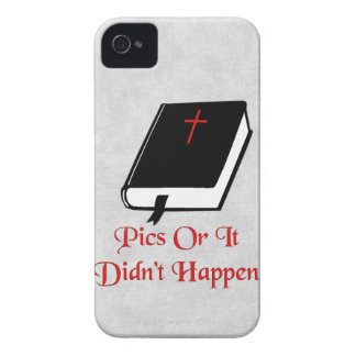 Pics Or It Didn't happen Case-Mate iPhone 4 Cases