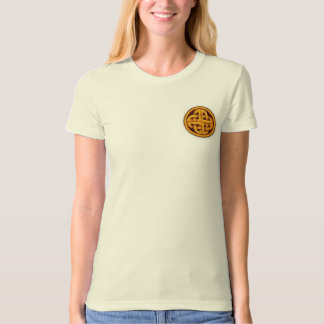 Pictish/Celtic knot in a circle T-shirt