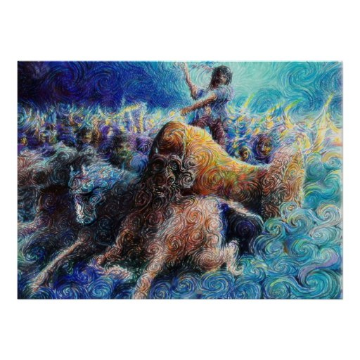 Pictish charge posters