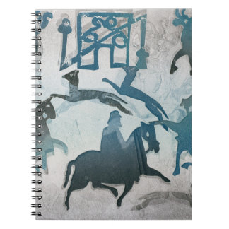 Pictish Hunting Scene III 1995 Notebook