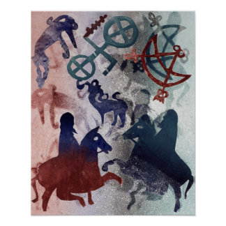Pictish Riders 1996 Poster