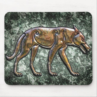 Pictish Wolf Mousemat
