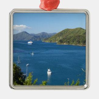 Picton Harbour, Marlborough Sounds, South Christmas Ornament