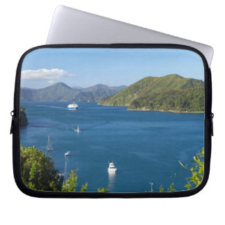 Picton Harbour, Marlborough Sounds, South Laptop Sleeve