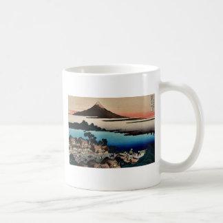 Pictorial  for Hokusais 36 views of Mount Fuji Coffee Mugs