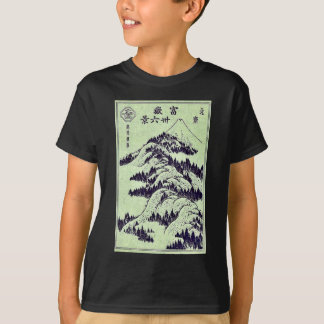 Pictorial for Hokusais 36 views of Mount Fuji T-shirts