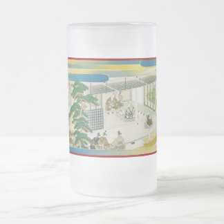 Pictorial Life of Nichiren Shonin pt.11 16 Oz Frosted Glass Beer Mug