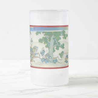 Pictorial Life of Nichiren Shonin pt.15 Frosted Glass Mug