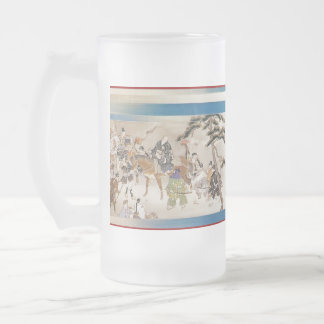 Pictorial Life of Nichiren Shonin pt.16 Frosted Glass Mug