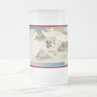Pictorial Life of Nichiren Shonin pt.17 16 Oz Frosted Glass Beer Mug