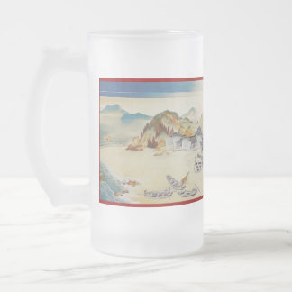 Pictorial Life of Nichiren Shonin pt.1 Frosted Glass Mug