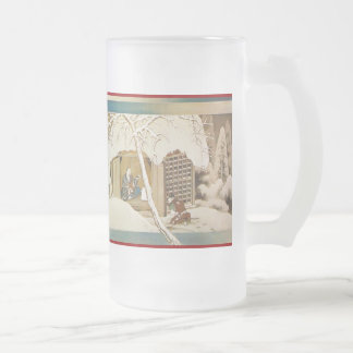 Pictorial Life of Nichiren Shonin pt.20 16 Oz Frosted Glass Beer Mug