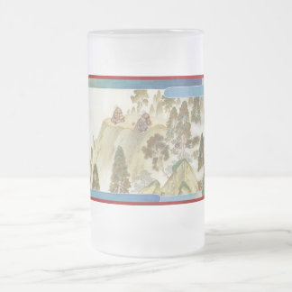 Pictorial Life of Nichiren Shonin pt.23 16 Oz Frosted Glass Beer Mug