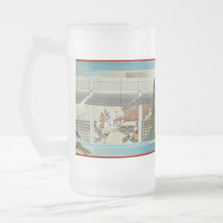 Pictorial Life of Nichiren Shonin pt.3 16 Oz Frosted Glass Beer Mug