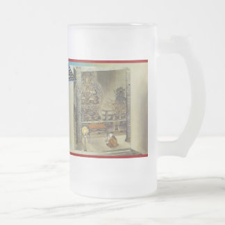 Pictorial Life of Nichiren Shonin pt.4 16 Oz Frosted Glass Beer Mug