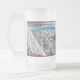 Pictorial Life of Nichiren Shonin pt.6 16 Oz Frosted Glass Beer Mug