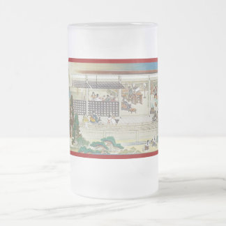 Pictorial Life of Nichiren Shonin pt.8 16 Oz Frosted Glass Beer Mug