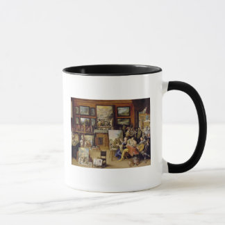 Pictura, Poesis and Musica in a Pronkkamer Mug
