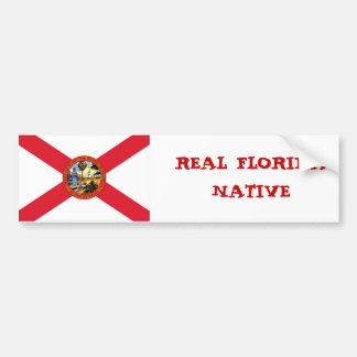 Picture1, REAL FLORIDA NATIVE Bumper Sticker