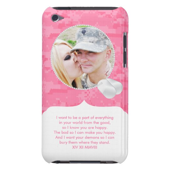 Picture and Poem iPod Touch Case (Breanna)