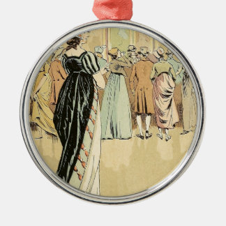 Picture Exhibition at the Salon 1800 Christmas Ornament