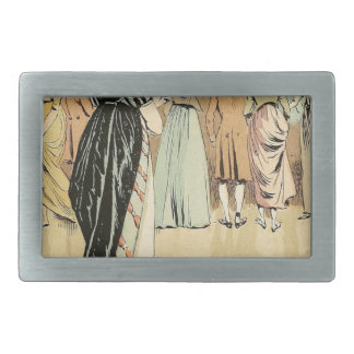 Picture Exhibition at the Salon 1800 Rectangular Belt Buckles